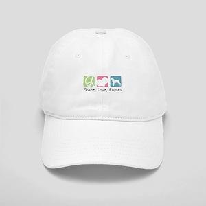 Peace, Love, Rotties Cap