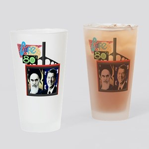 Cafe 80s Drinking Glass