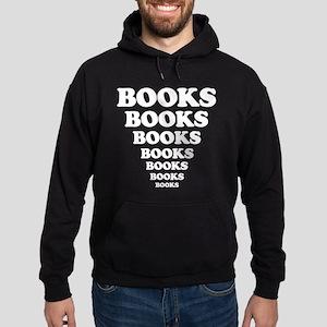 Books Books Books Hoodie (dark)