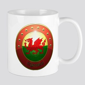 welsh shield Mug
