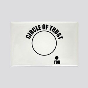 Circle of trust Rectangle Magnet