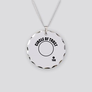 Circle of trust Necklace Circle Charm