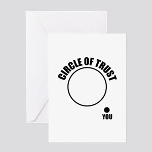 Circle of trust Greeting Card