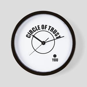 Circle of trust Wall Clock
