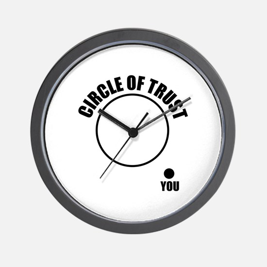 Circle of trust Wall Clock