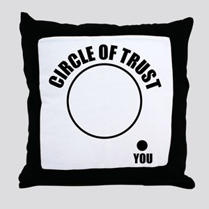 Circle of trust Throw Pillow