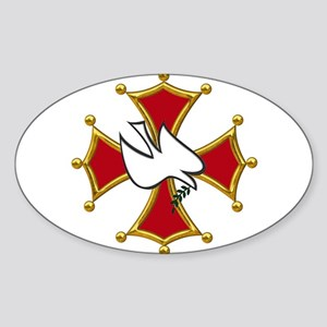Cathars dove Sticker