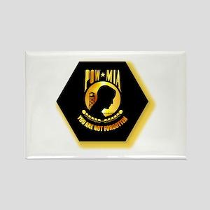 Emblem - POW - MIA Rectangle Magnet