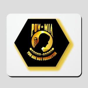 Emblem - POW - MIA Mousepad