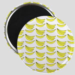 Yellow Bananas Pattern Magnet