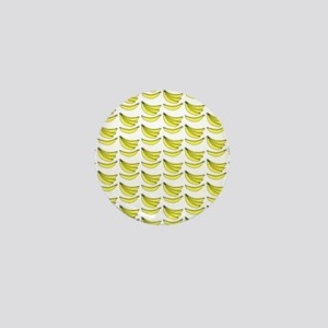 Yellow Bananas Pattern Mini Button