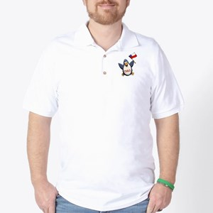 Chile Penguin Golf Shirt