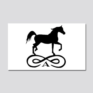 Infinity Arabian Horse Car Magnet 20 x 12
