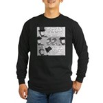 Lincoln's Hat Long Sleeve Dark T-Shirt