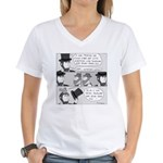 Lincoln's Hat Women's V-Neck T-Shirt