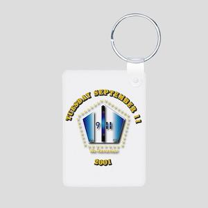 Emblem - 9-11 Aluminum Photo Keychain