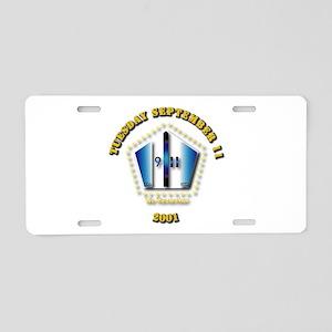 Emblem - 9-11 Aluminum License Plate