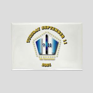Emblem - 9-11 Rectangle Magnet