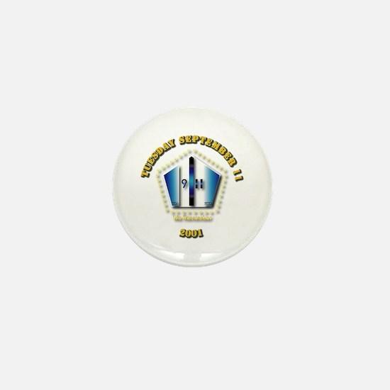 Emblem - 9-11 Mini Button