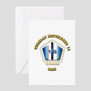 Emblem - 9-11 Greeting Card