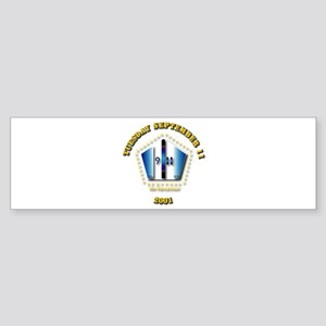 Emblem - 9-11 Sticker (Bumper)