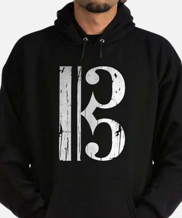 Distressed Alto Clef, C Clef Sweatshirt