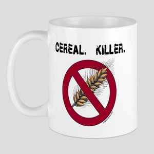 Cereal. Killer. with wheat, gluten free Mug