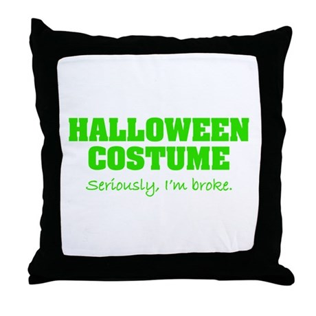 Halloween costume Throw Pillow