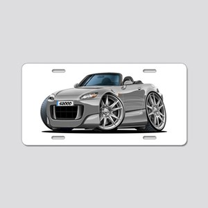 s2000 Silver Car Aluminum License Plate