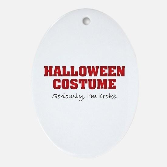 Halloween costume Ornament (Oval)