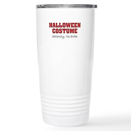 Halloween costume Stainless Steel Travel Mug
