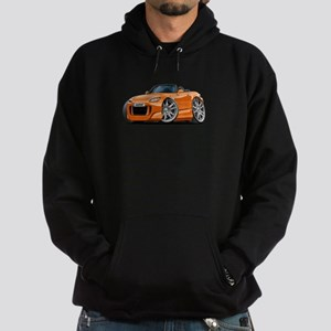 s2000 Orange Car Hoodie (dark)