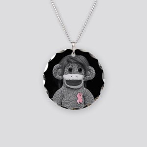 Think Pink Emma Necklace Circle Charm