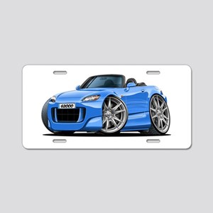 s2000 Lt Blue Car Aluminum License Plate