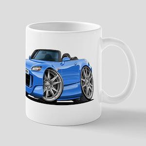 s2000 Lt Blue Car Mug