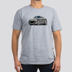 s2000 Grey Car Men's Fitted T-Shirt (dark)