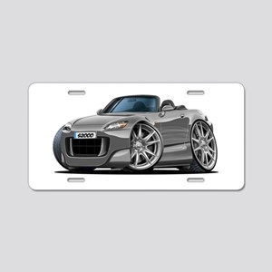 s2000 Grey Car Aluminum License Plate