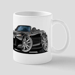 s2000 Black Car Mug