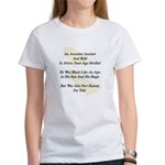 Bold Old Ancestors Women's T-Shirt