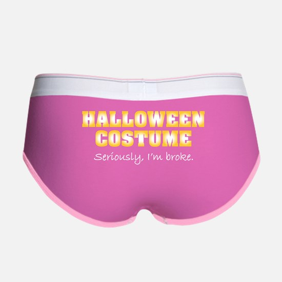 Halloween costume Women's Boy Brief