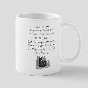 Wigner's Friend Limerick Mug