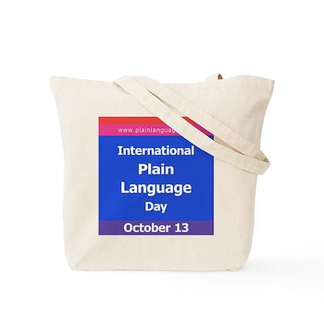 International Plain Language Tote Bag