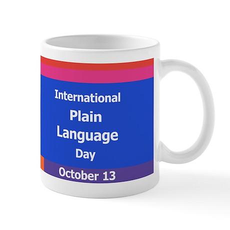 International Plain Language Mug