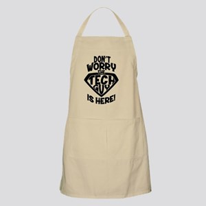 Don't Worry Tech Guy Is Here Light Apron