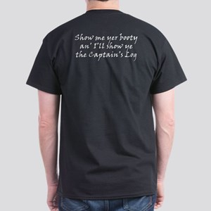 Captain's Log Dark T-Shirt