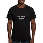 Linux Dreamer Men's Fitted T-Shirt (dark)