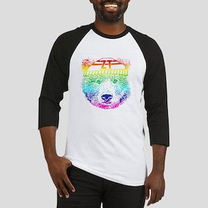Rainbow Bear Face Baseball Jersey