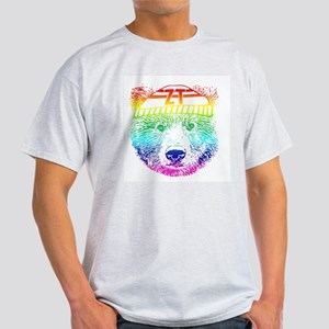 Rainbow Bear Face T-Shirt