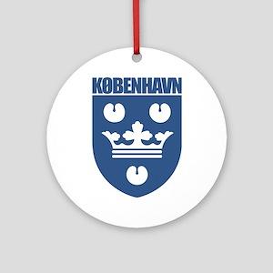 Copenhagen COA 2 Ornament (Round)