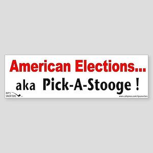 American Elections...aka Pick Sticker (Bumper)